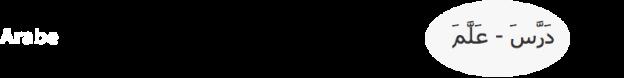 Banière Arabe